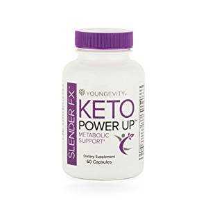 Keto Power Up Slender FX Enengy & Weight Control 60 caps - 6 Pack 2