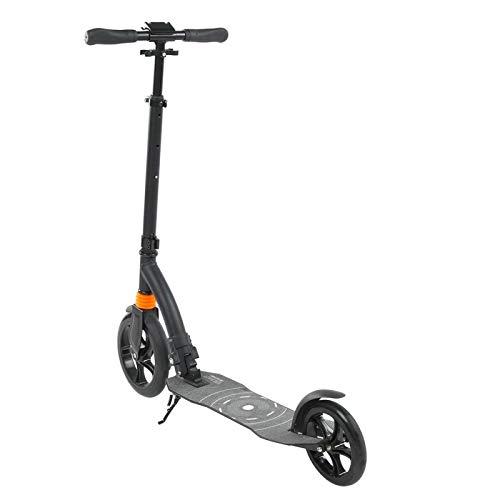 Kadimendium Scooter Plegable ergonómicamente cómodo Scooter Plegable Ajustable para Trabajo Pesado Scooter para Adultos para Scooter