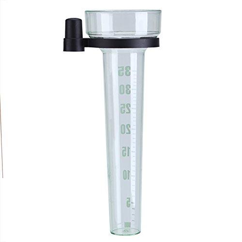 Pluviometro - Plastico Pluviometro con Supporto Misurazione Accurata for Giardino, Esterno, Cortile, capacità 35 mm