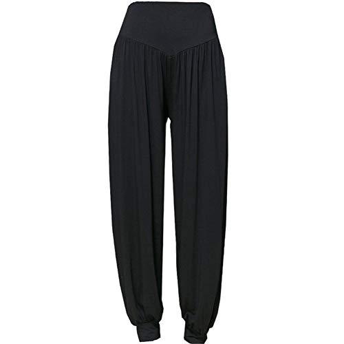 A/N Pantalones de Yoga Modal, Pantalones de Mujer, Bombachos Cerrados, Pantalones de Baile Informal, Pantalones de Tai Chi, Ropa de Yoga, Ropa Informal Yuga