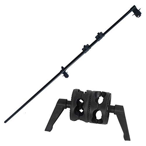 DynaSun H2258 - Kit Professionale Braccio Telescopico Giraffa con Giunto per Cavalletto Stativo