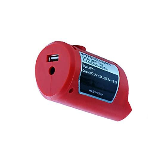 USB Fuente de alimentación M12 USB adaptador de energía del cargador de...