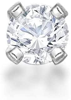 Lavari 14K White Yellow Gold 1.3mm .01 Carat Genuine Diamond Nose Ring Straight Stud 22 Gauge…