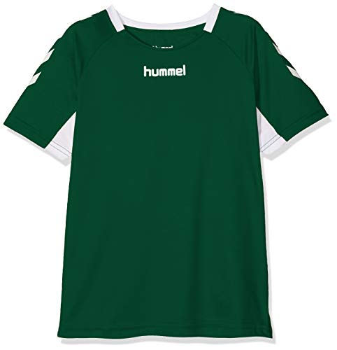 Hummel Kinder CORE KIDS TEAM JERSEY S/S Trikot, Grün (Evergreen), Gr. 140