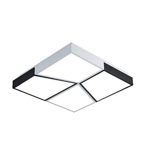 WTL Lighting - Plafón LED para dormitorio creativo, 50 cm x 60 cm (color: Stepless dimming)