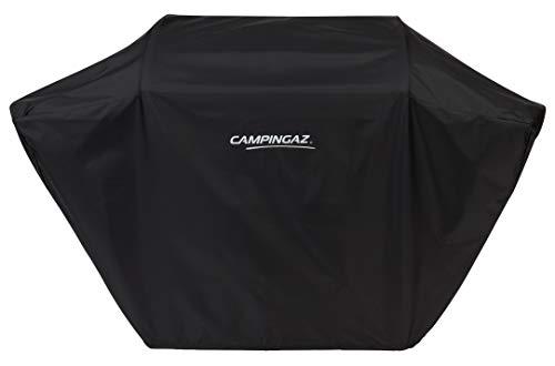 CAMPINGAZ BBQ ACCY Cover Funda para Barbacoa L, Resistente al Agua y a la Intemperie, cordón de fijación 3 Series Classic Grills, protección Solar, Polvo y Lluvia, Negro