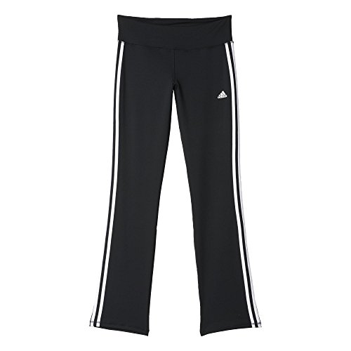 adidas Damen Hose BASIC 3S Pants Jogginghose, Black/White, XS