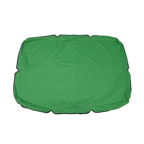 XINGJIJIJIA Altamente 66'X45 X5.9 Oscilación del jardín Toldo Toldo Gazebo al Aire Libre Patio oscilación Silla Hamaca Carpa Impermeable Cortina de Sun del Verano de Vela elección (Color : Green)