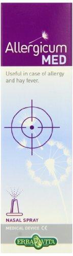Erba Vita - Allergicum Med Spray Nasale 30 milliliter (Dispositivo Medico) - Allergie Stagionali, Vie Respiratorie e Nasali