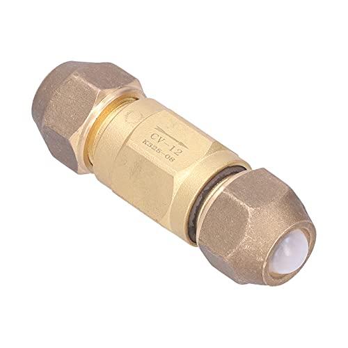 """Terugslagklep,terugslagklep messing niet terugkeer 1 manier 1/2 """"schroefdraad pneumatische luchtcompressor accessoires"""