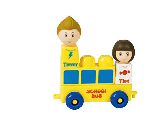 Tutor Blocks Meine First Serie 101 - Juego de bloques de construcción magnéticos para niños mayores de 6 meses