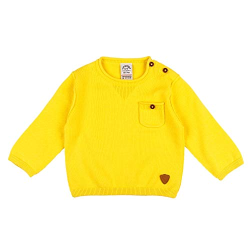 Charanga Baby-Jungen Janoral Polo-Pullover, Senf, 3/6