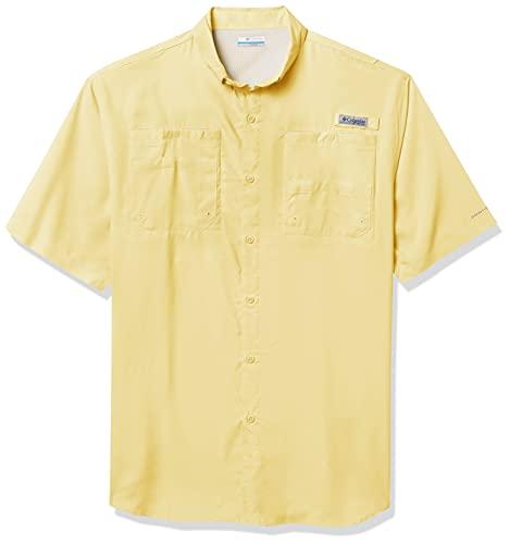 Columbia Men's Tamiami II Short Sleeve Shirt, Sunlit, Large