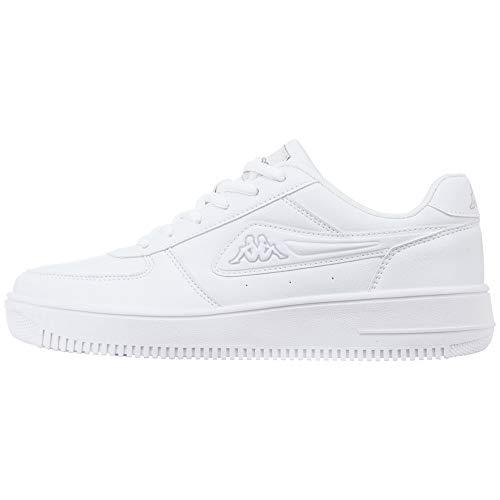 Kappa Bash, Zapatillas Unisex Adulto, Blanco (White/L`Grey 1014), 42 EU