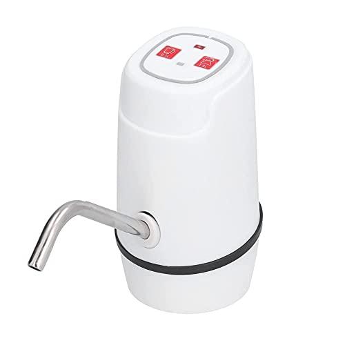Sdesign Dispensador de Agua de Botella, 5 galones. USB Carga de Bomba de Agua eléctrica, dispensador automático de jarras de Agua para el hogar, Recargable, para Acampar y picnicing