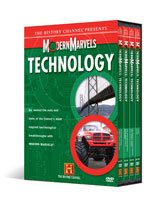 Modern Marvels Technology Collection : 8 Discs : Candy , James Bond Gadgets , the Manhattan Project , Monster Trucks , More Engineering Disasters , Sugar , the World's Longest Bridge , Walt Disney World : Explore Revelatory Inventions and Engineering Feats in Modern Day Life
