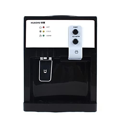 Distributore di acqua da ufficio, per acqua potabile, 550 W, per acqua calda e fredda, per 3,5 – 18 l di acqua in secchio (bianco)