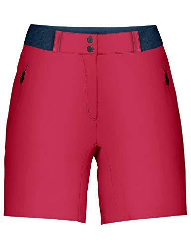 VAUDE Women's Scopi LW Shorts II Pantalon Femme Cranberry FR: Taille Unique (Taille Fabricant: 44)