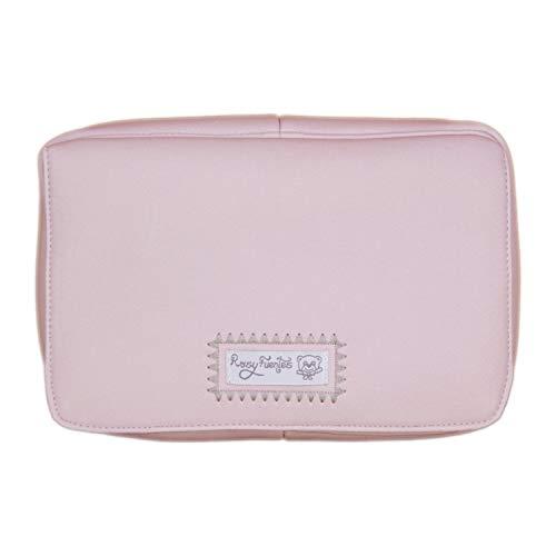 Porta toallitas húmedas Fuentes en color rosa empolvado