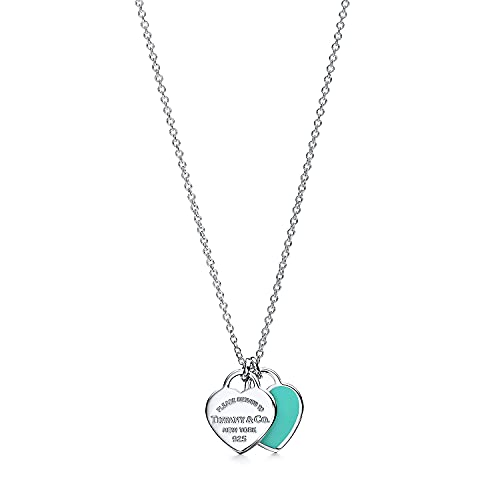 Return to Tiffany & Co.Tiffany Necklaces For Women,Sterling Silver Double...
