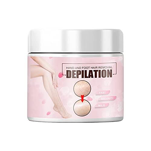 Crema de depilación corporal para mujeres, no irritante para eliminar el vello de todo el cuerpo rápidamente la depilación de la crema para el cabello axilas crema blanqueadora cera