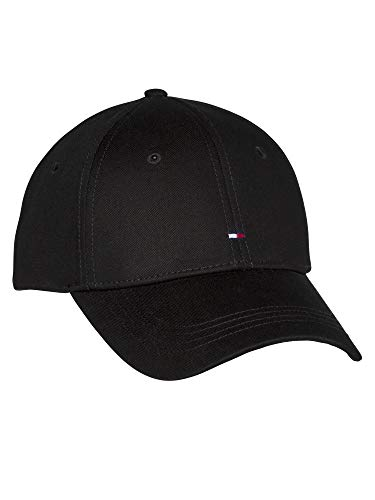 Tommy Hilfiger Damen Kappe Cap Baseballcap BB Cap OneSize Schwarz AW0AW09807-BDS