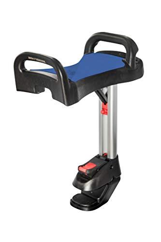 Lascal Saddle per BuggyBoard Maxi, Sellino bambino pieghevole e removibile da pedana buggy board, Seggiolino passeggino per modello Maxi dal 2011 in poi, blu
