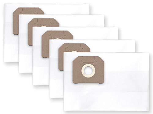 profilters 5x Staubbeutel passend für AEG AP 300 ELCP, FLEX VC 25 L (MC), MAKITA 446,443, 444M, 446L, VC 3511Q, NILFISK Attix 30, 350, 360,Attix - 302004000, ALTO 302000449 STIHL SE 121, 122