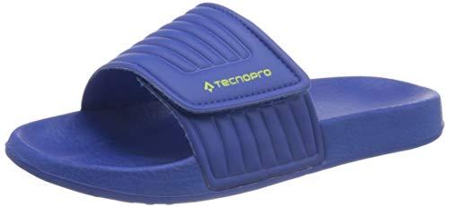 Tecnopro Unisex-Kinder Badesandale Tarragona I Badeschuhe, Blau (Blue Royal/Green LIM 901), 31 EU
