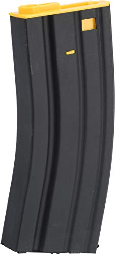Evike Airsoft - Matrix 300rd Metal Hi-Cap Magazine for M4 / M16 Series Airsoft AEG (Color: Yellow)