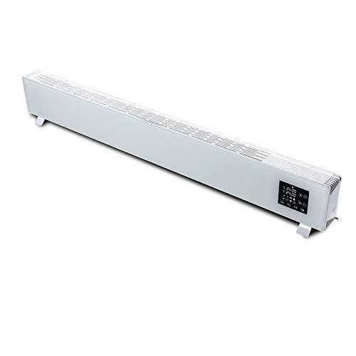 MAZHONG Radiateur électrique Chauffage silencieux de bureau économiseur d'énergie de conversion de fréquence d'opération silencieuse d'appareil de chauffage de puissance élevée de 2500W