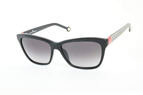 Carolina Herrera SHE701700K Gafas de sol, Negro, 55 para Mujer