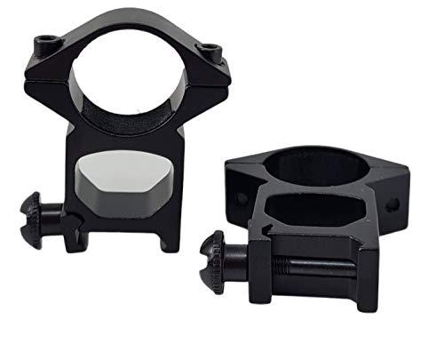 tactical attacchi per ottica carabina aria compressa da 22mm per slitta weaver anelli da 25 mm per OTTICA CARABINA ARIA COMPRESSA attacco CANNOCCHIALE 4x20 4x32 3-9x40