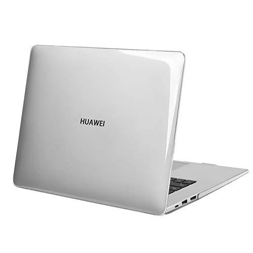 MOSISO Funda Compatible con Huawei MateBook D 15 Pulgadas 2020 2019, Cubierta Rígido Plástico Estuche Protectora, Claro Cristal