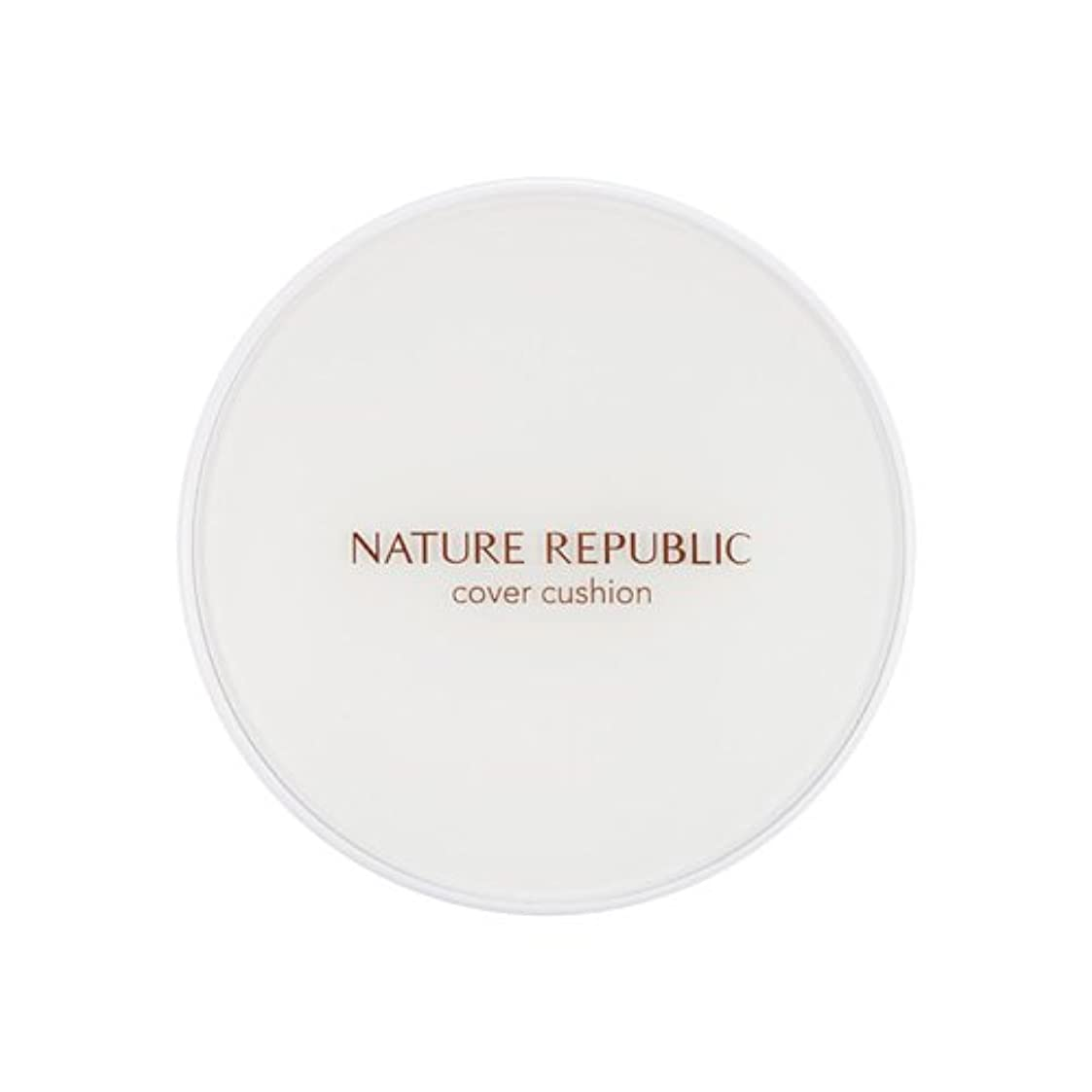 ズボンリゾートテーマ[Outlet] NATURE REPUBLIC Nature Origin Cover Cushion (01 Light beige) (SPF50+ PA+++) [並行輸入品]