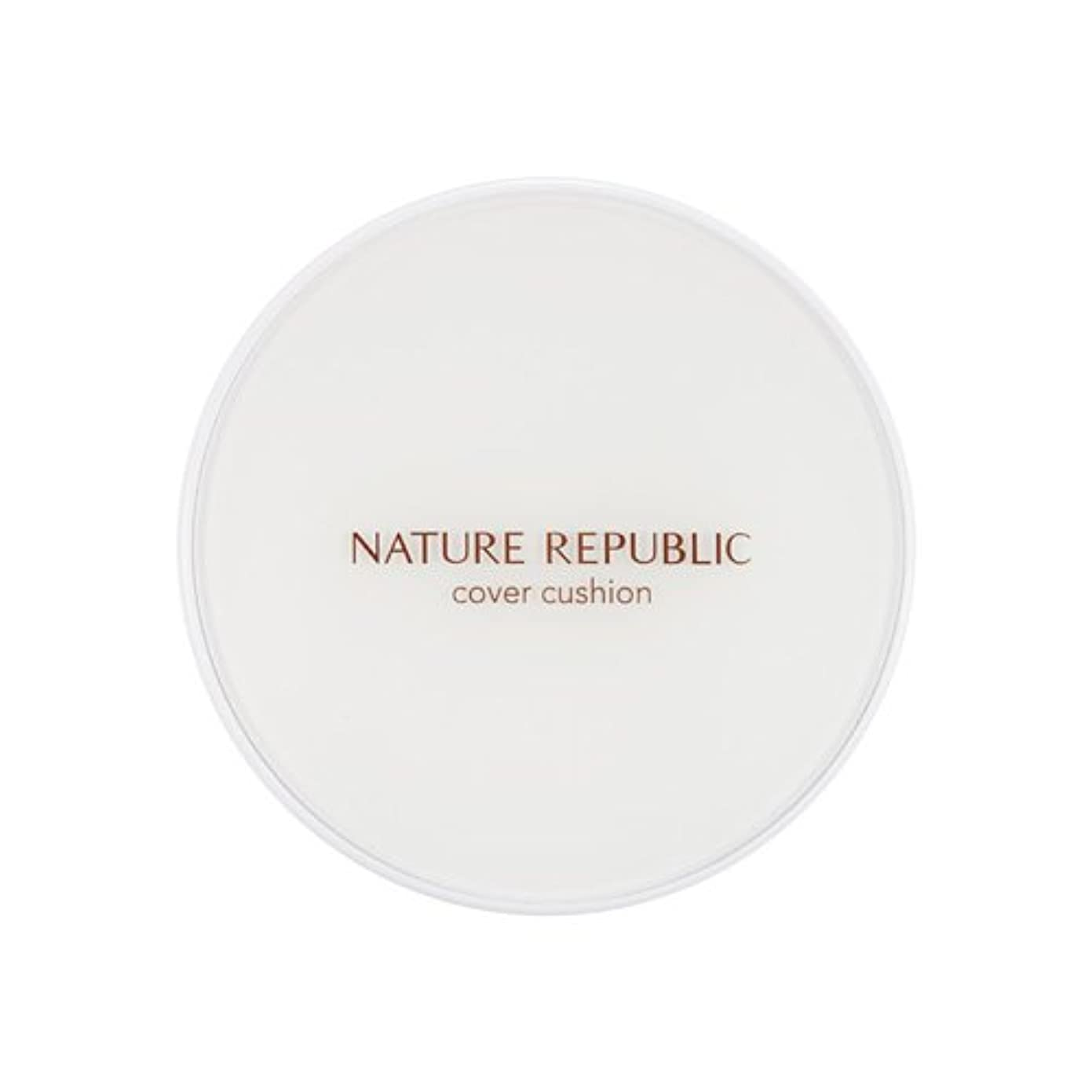 クレジットズボン誠意[Outlet] NATURE REPUBLIC Nature Origin Cover Cushion (01 Light beige) (SPF50+ PA+++) [並行輸入品]