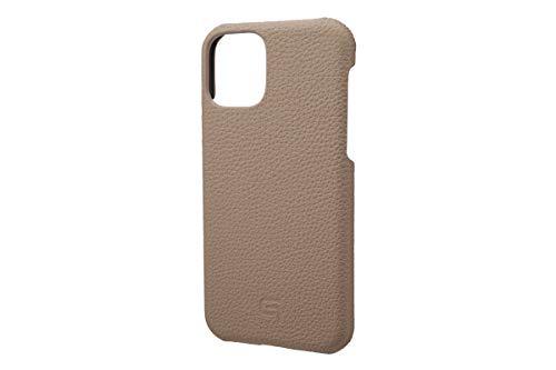 GRAMAS Shrunken-calf Leather Shell Case for iPhone 11 Pro (トープ)