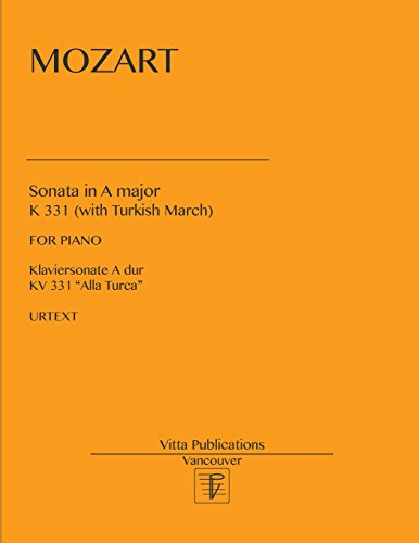 Sonata in A major: with Turkish March