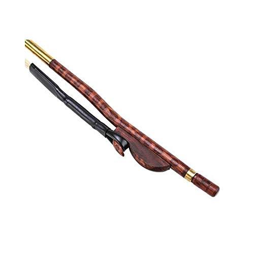 Erhu Bogen, Musikinstrumente Zubehör, Schlange-Holz-Bogen for Anfänger, Weiß Schachtelhalm String, Schlange-Holz-Erhu Bogen (Größe: 84cm) HUERDAIIT (Size : 84cm)