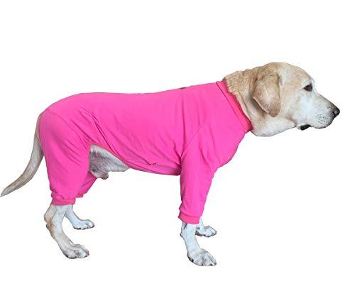 BT Bear Ropa para Perro Grande, Protege Las articulaciones contra el Pelo, Pijama para Perro de Cuatro Patas para Perros medianos, Perros Grandes, Labrador Golden Retriever