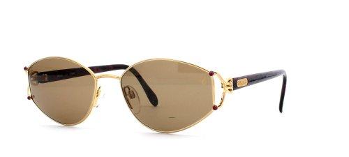 Chopard C527 6060 Gold Red Square Certified Vintage Sonnenbrille für Damen