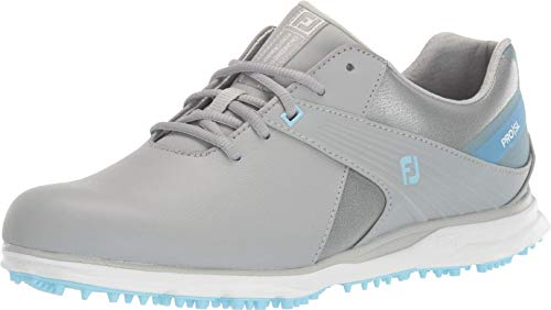 Footjoy Damen Wn Pro Sl Golfschuh, Grey/Light Blue, 40 EU