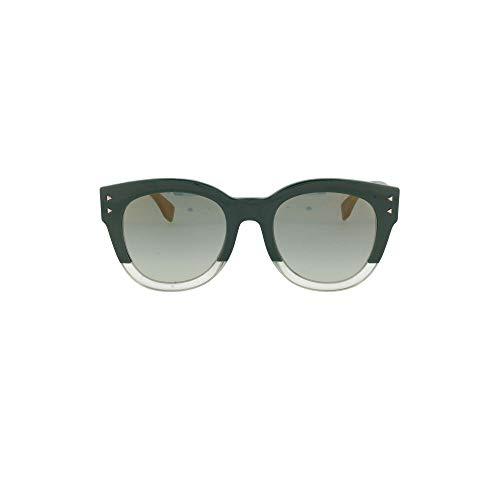FENDI Luxury Fashion Donna FF0239S1EDEZ Verde Occhiali Da Sole | Primavera Estate 20