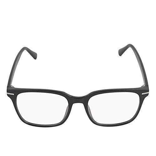 Peter Jacob Black color Square Plastic frame anti glare glasses for women, men, girls & Boys