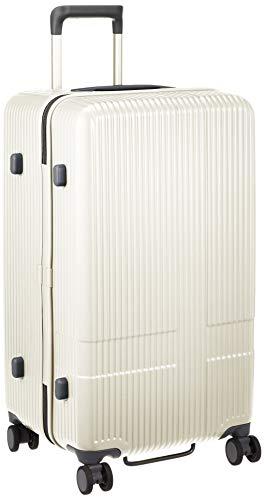 [イノベーター] スーツケース グッドサイズ スリム 多機能モデル INV70 保証付 75L 70 cm 4.2kg バニラ