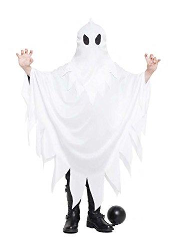 Disfraz Fantasma Talla 7-9 Años Tamaño Infantil