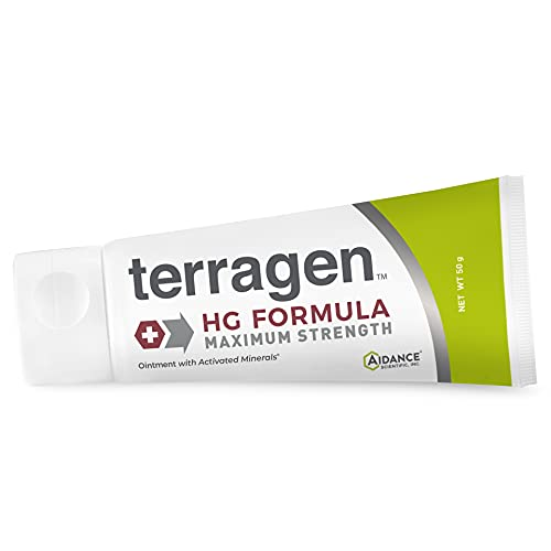 Herpes Outbreak Treatment – HG Formula MAX Patented Pain Free Gentle Natural Treatment for Symptoms Caused from Herpes Outbreak- Discomfort Pain Itch Sores Ulcers Blisters by Terragen - 50gm