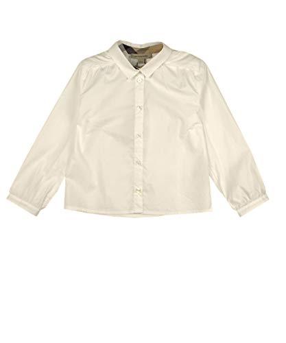 BURBERRY Bluse - weiß, Größe:12 Monate / 80