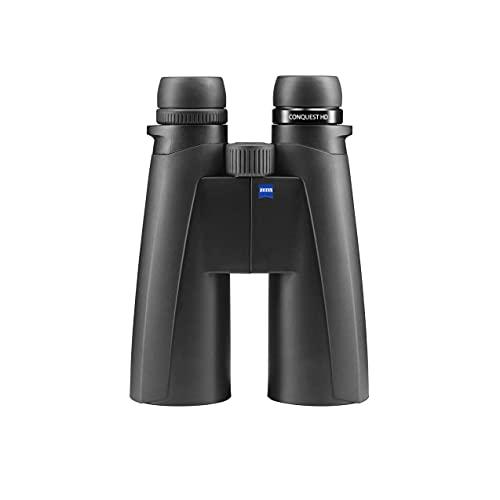 ZEISS Conquest HD - Binocolo 15 x 56 con rivestimento protettivo Lotutec (nero)