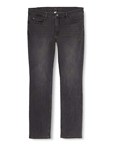 MAC Damen Straight Leg Jeanshose Dream, Grau (Dark Grey Used Wash D975), W40/L30